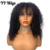 Curly Short Bob with Bangs Lace Front Human Hair Wig For Women Pre Plucked with Baby Hair