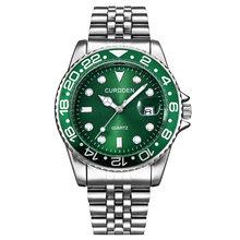 Мужские часы 2020 от ведущего бренда, роскошные мужские кварцевые часы, мужские ролевые наручные часы из нержавеющей стали, повседневные спор...(Китай)