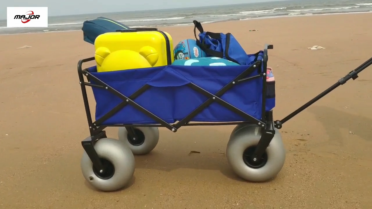 Mini Camping trolley plegable Carro de playa carros plegable al aire libre utillty carro