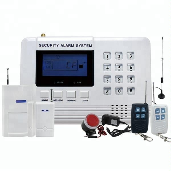 Hot selling dual net <strong>gsm</strong>/pstn auto dial alarm system 12v with relay output