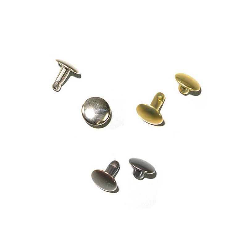 Factory Direct Various Styles Custom Brass Rivet Logo for Shoes