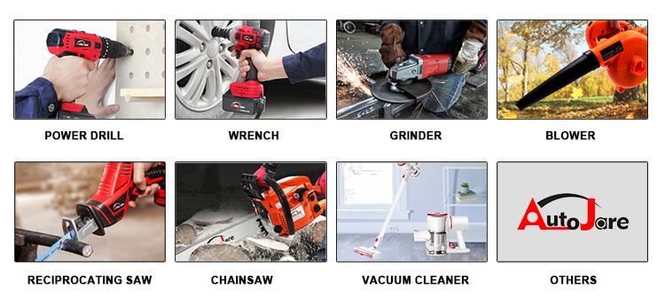 20V elektrisch gereedschap sabre accu reciprozaag
