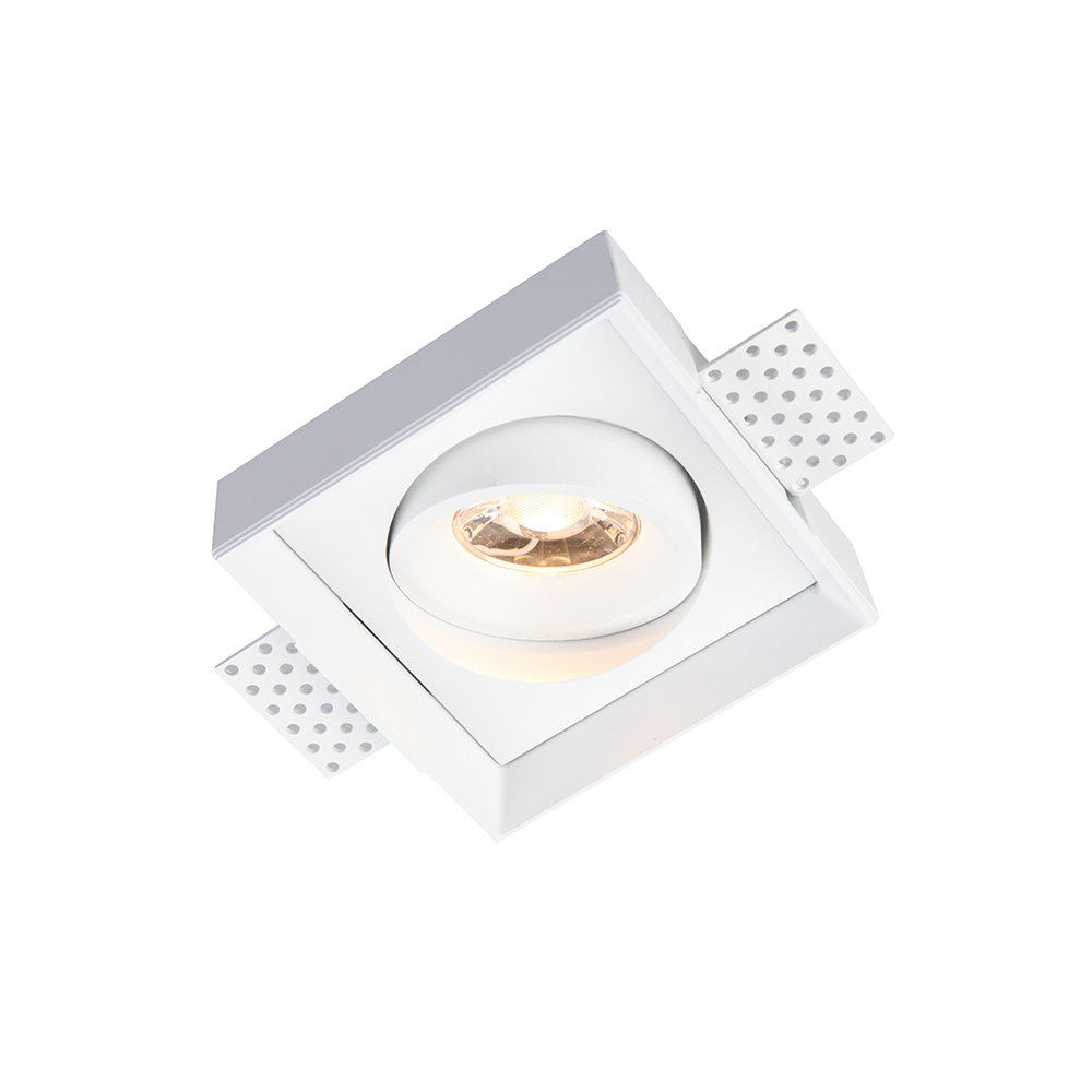 7W 8W 10W Square Cube Dimmable Slim Trimless Gimble tiltable Deep Recessed LED Downlight Spot Light