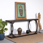 solid wood console table mango wood table real wood dining table