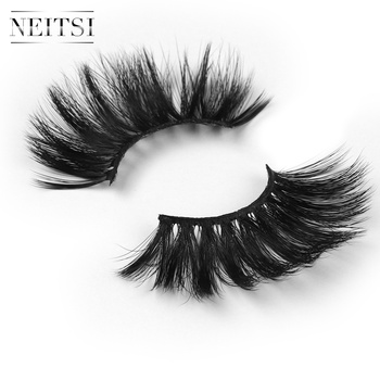 Free Sample Neitsi Natural false eyelash faux set soft curl artificial eyelash extension curly eyelashes