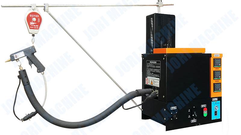 Semi Automatic Hot Melt Gluing Machine Glue Applicator Machine