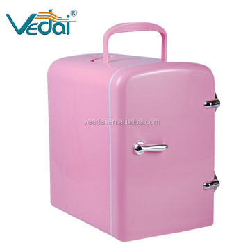 portable 4l mini fridge/ colored cosmetic mini fridge
