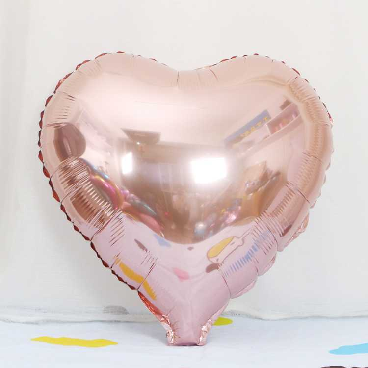 Wholesale factory supplies baby shouwer party foil rose gold balloons