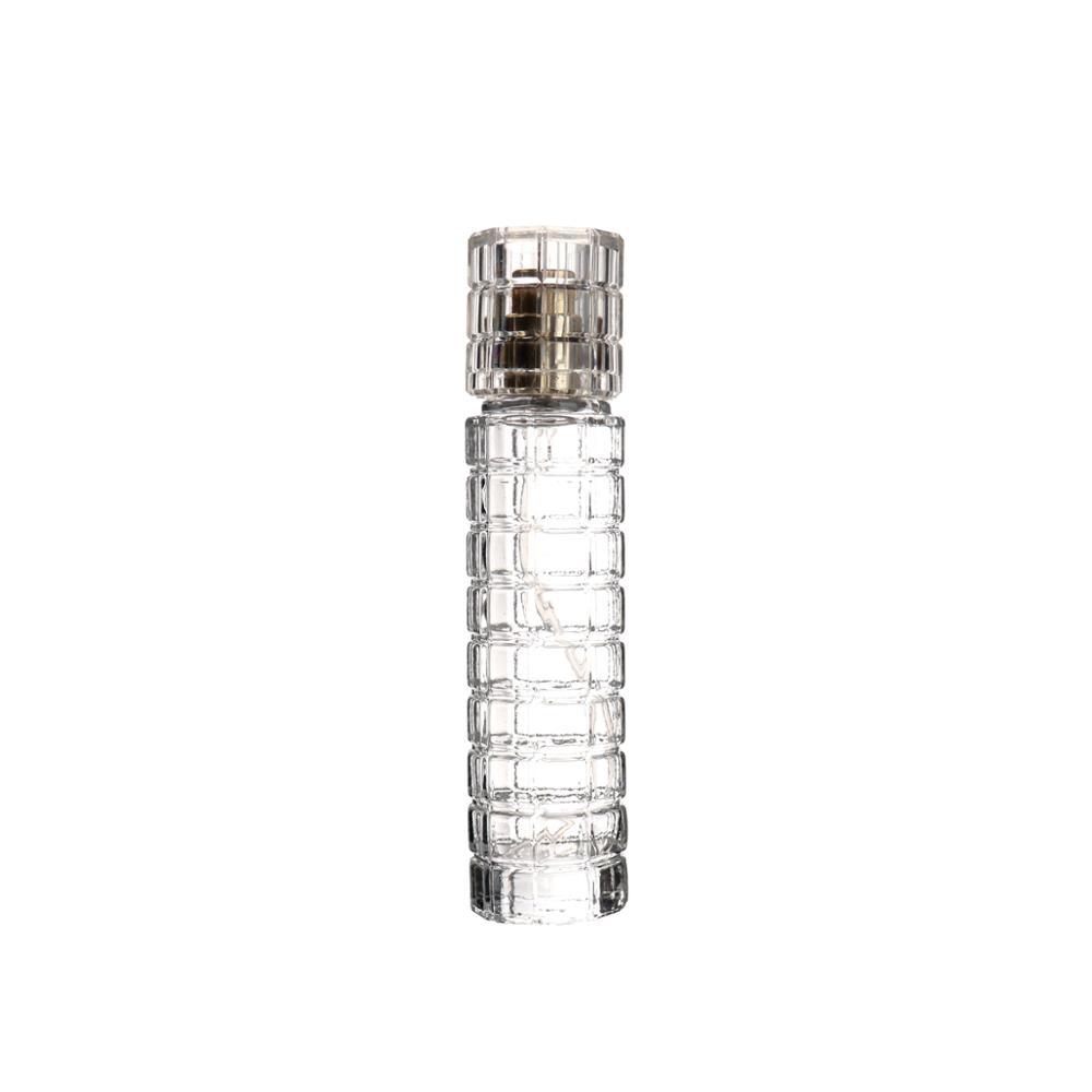 卸売中国空の透明な 30 ミリリットルユニークな香水ガラスボトル小ガラスボトル香水ボトル