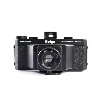 Holga 120PAN Plastic 120 Medium Format Panoramic Zone Focus Film Camera