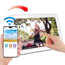 Full Hd Touch Screen Ultra Sottile Lcd da 10.1 Pollici Nube Digital Photo Frame con Lettore Video