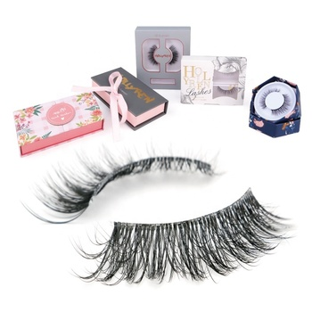 Hot Sale Super Soft Thin Band Volume Natural False Eyelash