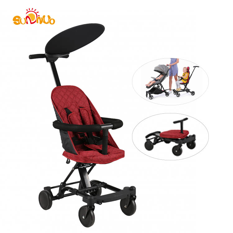 3 in 1 High Quality Baby Convertible Rider Easy Foldable Portable Kids Stroller Adjustable Multi-function Baby Stroller