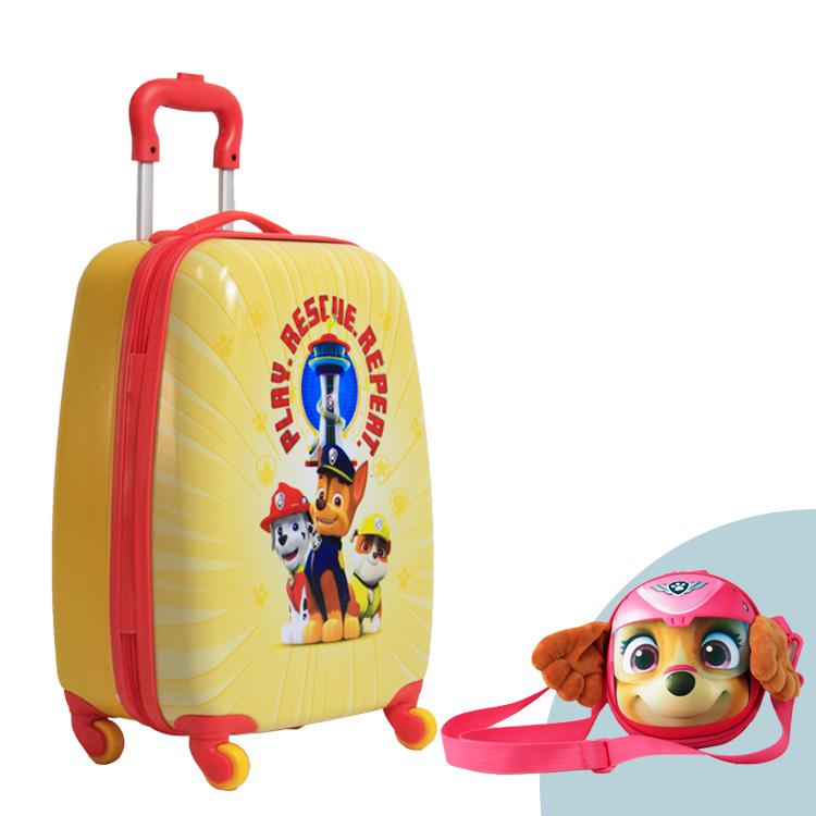 ABS Hard Shell Voorraad Carry Op Kids/Kinderen Trolley Koffer Tas Travel Carrier Bagage Set