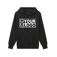 spring new fashion Cotton men's hoodies casual loose pure color hoodies party activity Custom logo hoodies mens sweater