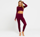 Hot Sale Fitness Wear Garment Hollow Seamless Long Sleeve T Shirt Tank Top and Gym Sports Legging Pants Suit set for Women