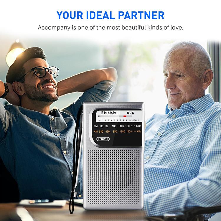 2020 China hot selling small pocket fm radio, am fm pocket radio 926