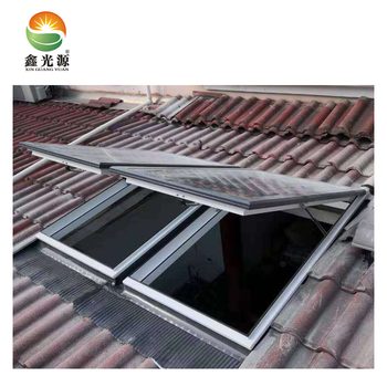 High quality laminated glass skylights with flashing kits for slope roof