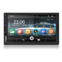private model design 7 inch touch screen usb bluetooth mirror link FM AUX 2 din car radio stereo autoradio