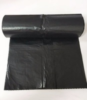 Black Trash Fold Custom Jumbo Black Ldpe Biodegradable Roll Manufacturers Black Plastic 55 Gallon Garbage Bags