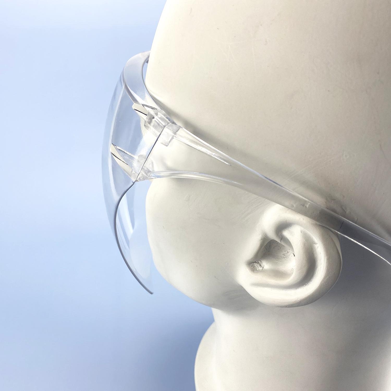 Ready Stock Reusable Transparent Designer Protective Blocc Goggle Face Shield