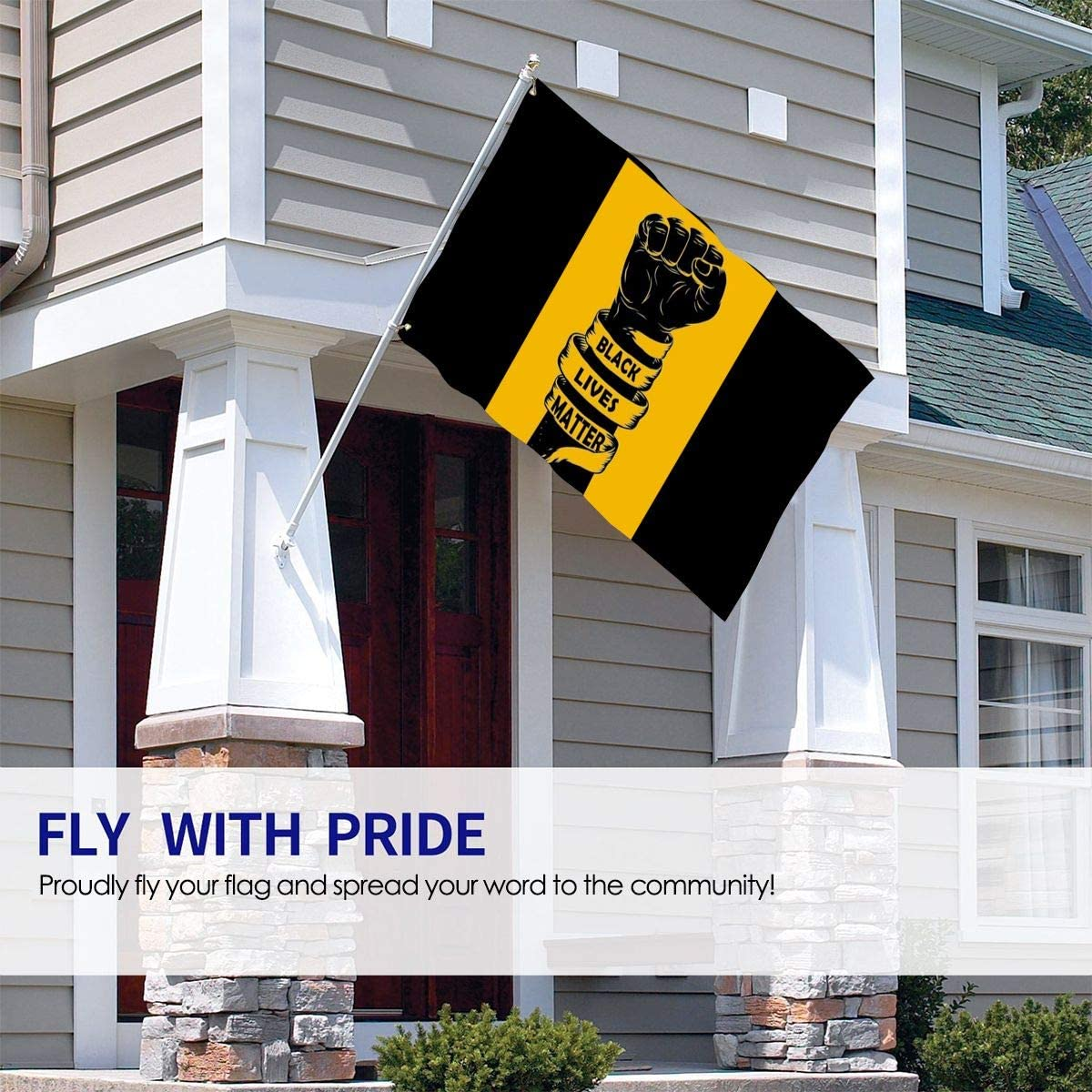 Hotsale Wholesale Justice for George Black Lives Matter Flag 3x5 Stop The Violence Flags 90 X 150 cm Banner