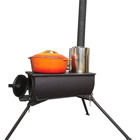 Price Wood Stove Wood Camping Tent Wood Stove Warmfire Factory 2020 New Design Cheaper Price Stainless Steel Wood Camping Stove Portable Tent Stove WM-CPS14-05