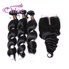 Chloe Natural Chinese Loose Wave Hair Extensions Raw Private Label Braiding Human Hair