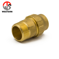 PN25 CXC Brass Pipe Fitting with Male Thread