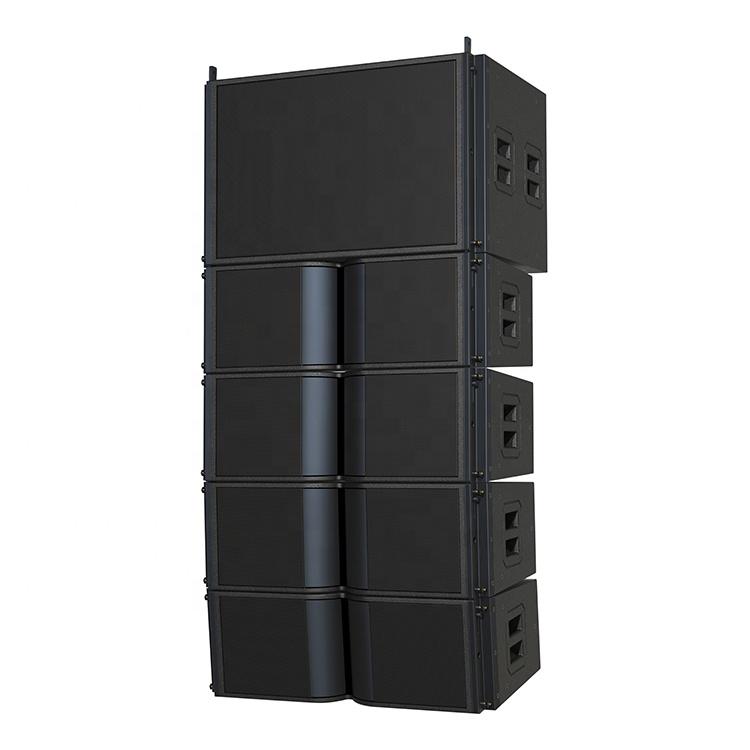 212ราคาถูก Passive Pa ลำโพงเสียง Pro ระบบเสียงดีเจสองทางคู่8นิ้วสายลำโพงอาร์เรย์มืออาชีพ