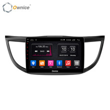Ownice Android Car Radio Stereo Audio Video DVD Player Sistema di Navigazione Multimediale per Honda CRV 2013 2012-2016