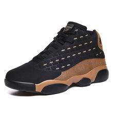 Высокая мода мужская обувь баскетбольные кроссовки Удобная дышащая износостойкая Нескользящая спортивная обувь(Китай)