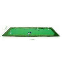 Joli mini golf gazon artificiel pratique couvertures putting green d'intérieur