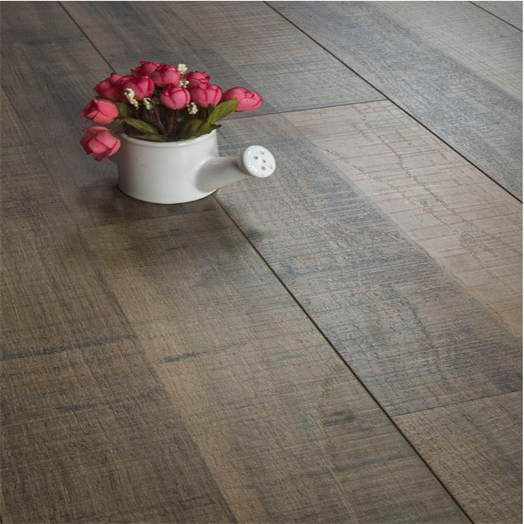 Light Grey color laminated flooring from China