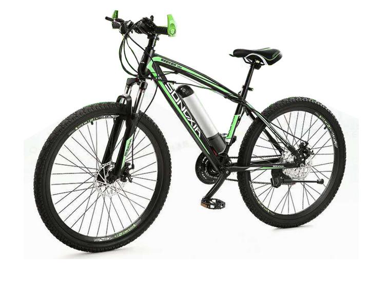 Горячее надувательство songxia женские батареей 36В дроссельной заслонки горного 26 дюймов набор колесного мотора lkz, фара для электровелосипеда в электрический велосипед