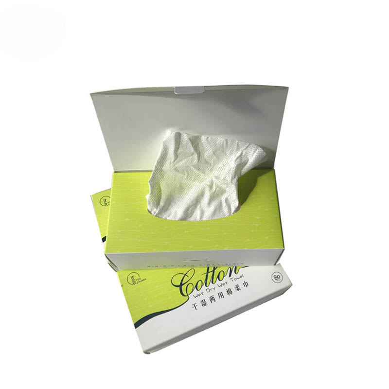 China hot sale alcohol free meshhole non woven spunlace dry wipes,soft and safe meshhole non woven dry wipes