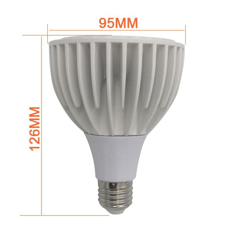 COB LED Spotlight AR111-GU10, G53, E27 light base, 12V/220V