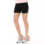 Cheap Womens 100 Polyester Black Shorts Sports Running Shorts