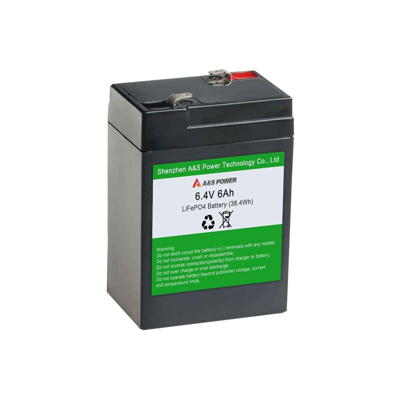 Ricaricabile 32700 2S1P LiFePO4 6.4v 6Ah Battery Pack Con CONTENITORE In ABS