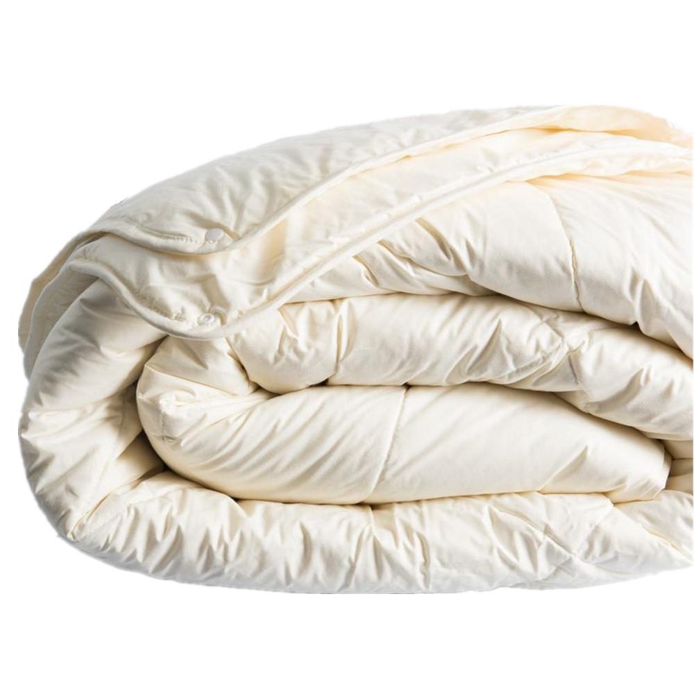 Selimut dan Bantal Mengisi Bahan Dicuci Putih Bebek Bulu 2-4 Cm