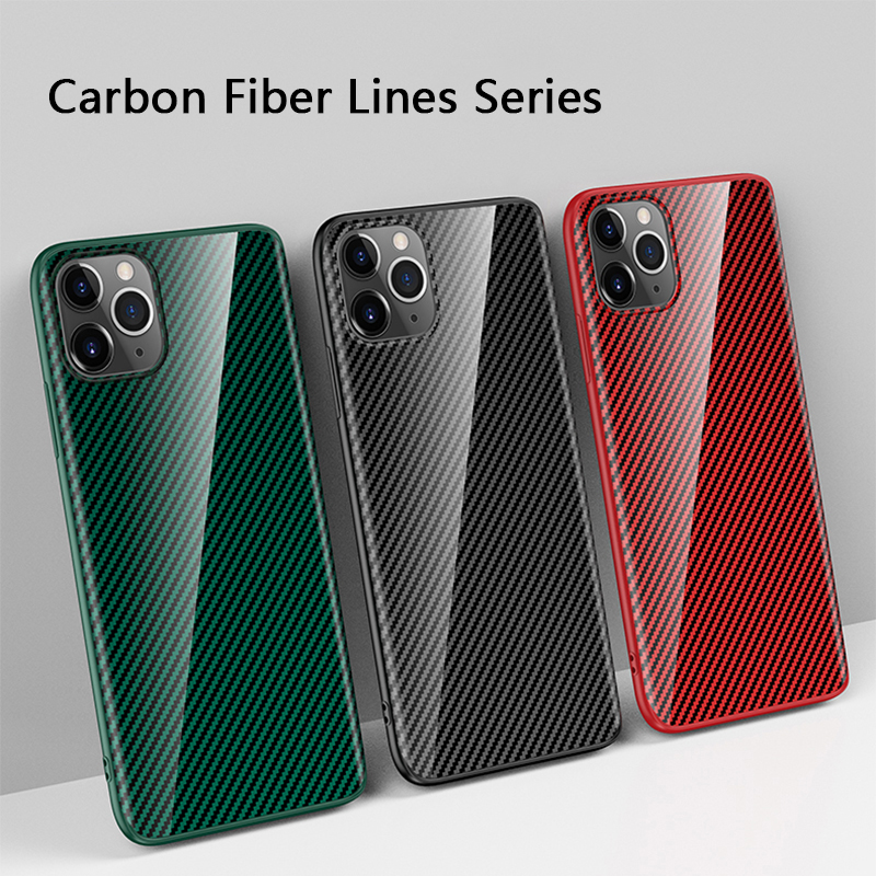 Upgraded Structure Carbon Fiber <strong>Ceramic</strong> Film Anti-shock Cellphone <strong>Case</strong> for iPhone 11/11pro/11pro max <strong>Case</strong> Cover