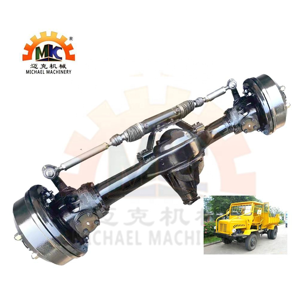 Light Duty Oil Palm Tractor Front Drive Steer Axle 4x4