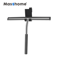 Masthome Clean car Wiper Glass Cleaning Handle Rubber Shower Stainless Steel Silicone Cleaner Window Squeegee