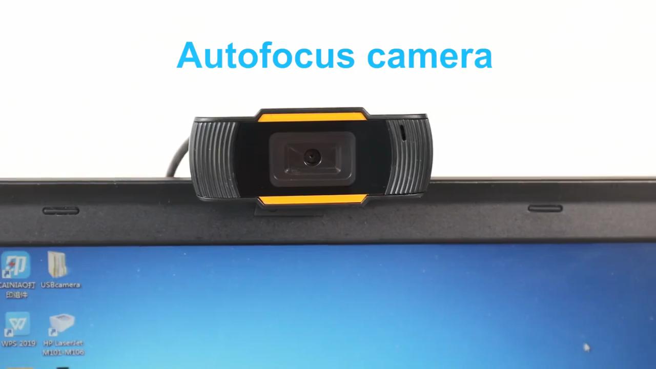 חדש 720p 1080p אינטרנט מצלמת קול קליטת עם מיקרופון USB 2.0 וידאו שיא HD מצלמת אינטרנט מצלמה