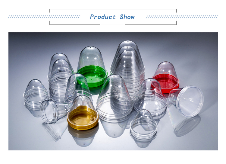 Wide-Mouth Pet Bottle Preform 80mm 35g Are Used To Make Edible Oil Bottles