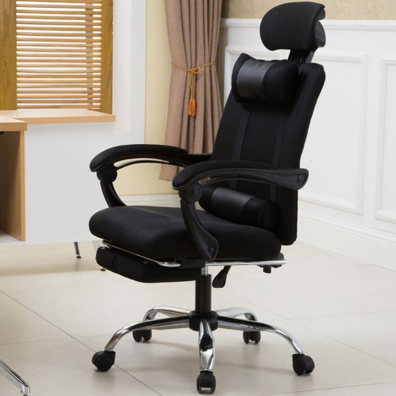 Free Sample Boss Manager PU Leather Executive Swivel style office ergonomic chair ergonomic full mesh office chair