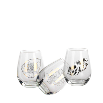 New products stemless wine glasses personalized hand made ombre glass handpainted party beer cups