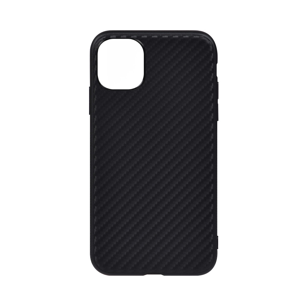 Ultra Thin Flexible Carbon Fiber TPU black <strong>cover</strong> Anti Slip Scratch Phone Case For iphone 11 Pro 5.8 2020 Cell phone case <strong>cover</strong>