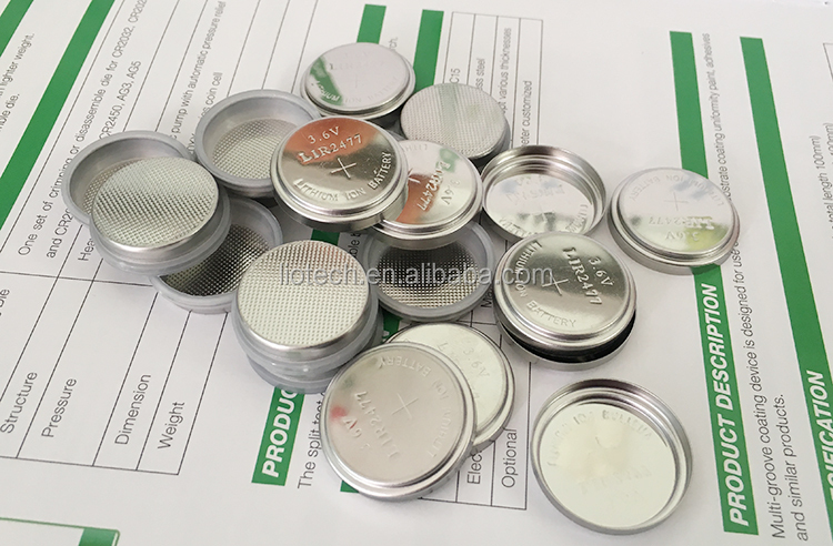316 Stainless Steel  CR2032 Coin Cell cases Battery Cell Cases