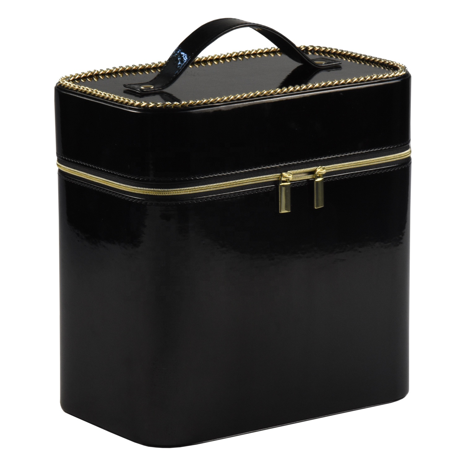 High-end fashion cosmetic packaging luxury box beauty box cosmetic black cosmetic box inserts